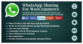 WhatsApp Sharing For WooCommerce